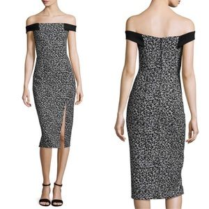 N / Nicholas Static Shoulder Band Dress